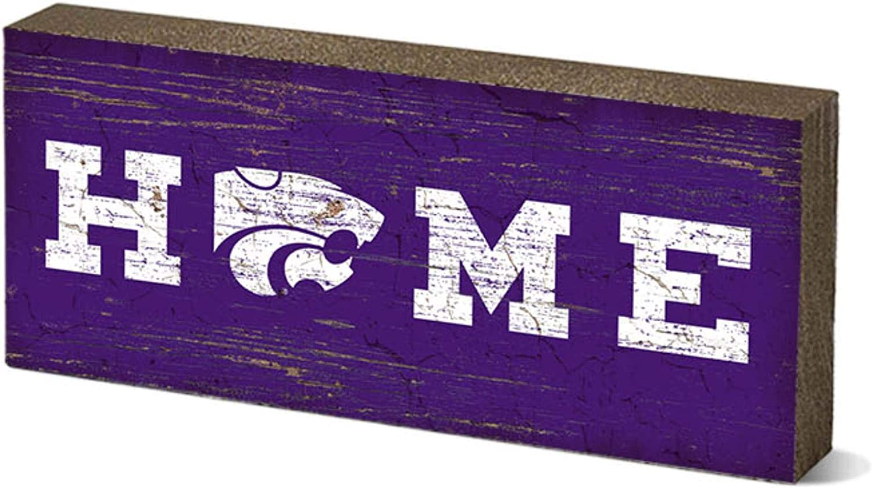 One Size NCAA Legacy Kansas Jayhawks Mini Table Top Stick 2.5x6 Wood