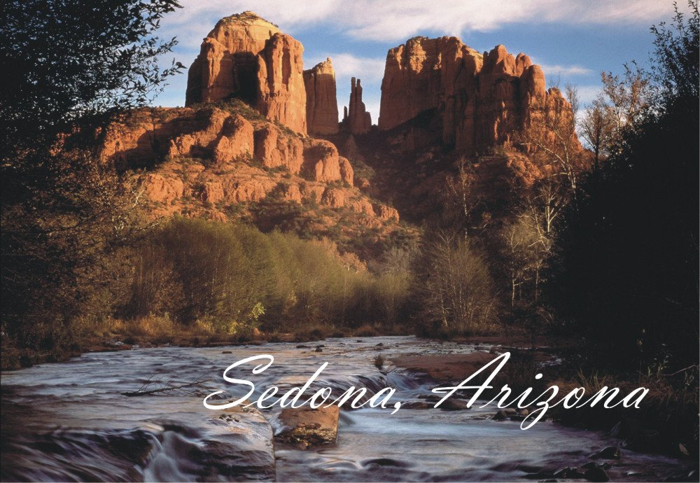 Sedona, Arizona, Mountains, River, AZ, National Park, Magnet 2 x 3 Photo Fridge Magnet