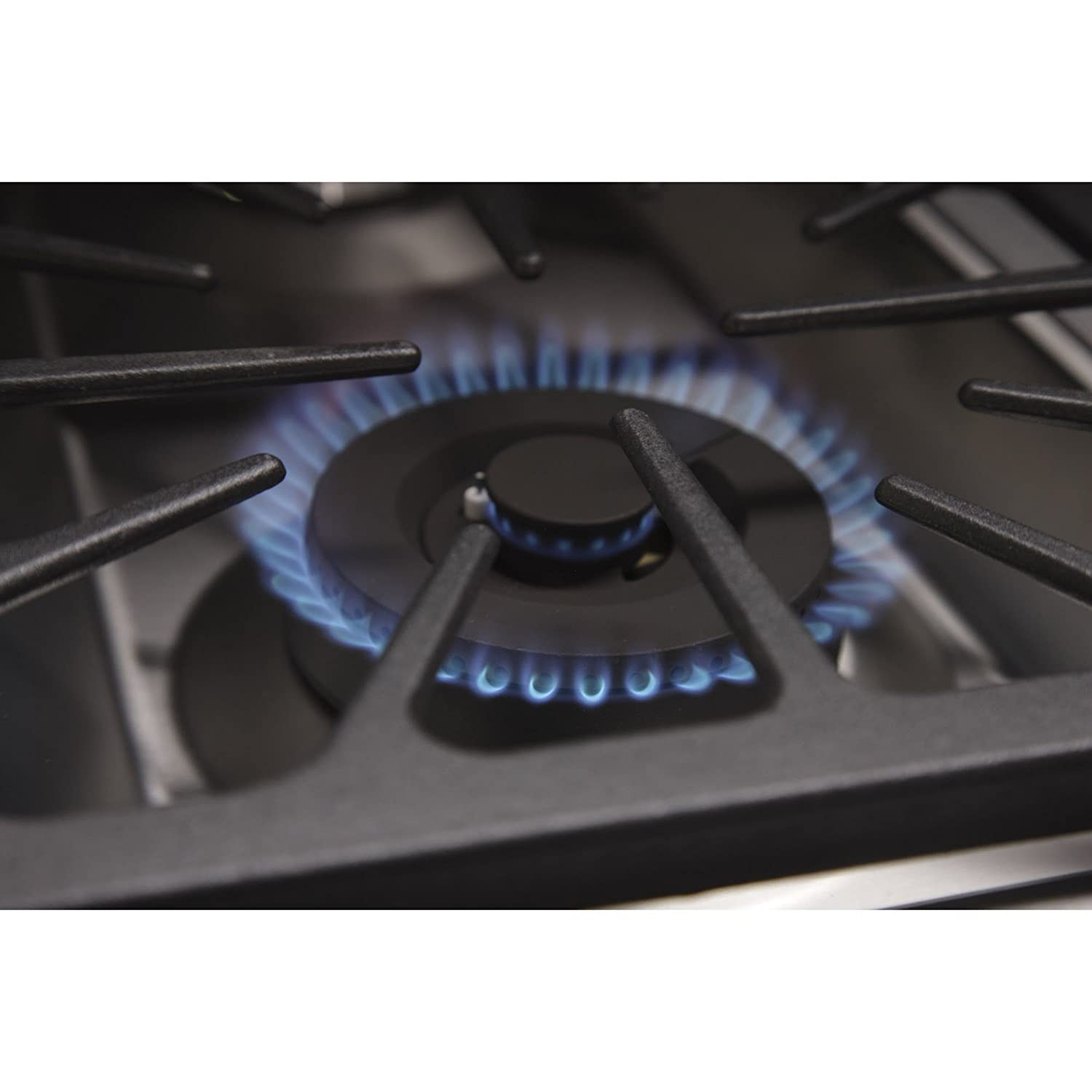 Griddle and Two Ovens ft Kucht KRG4804U Professional 48 6.7 cu Stainless-Steel Natural Gas Range with Sealed Burners