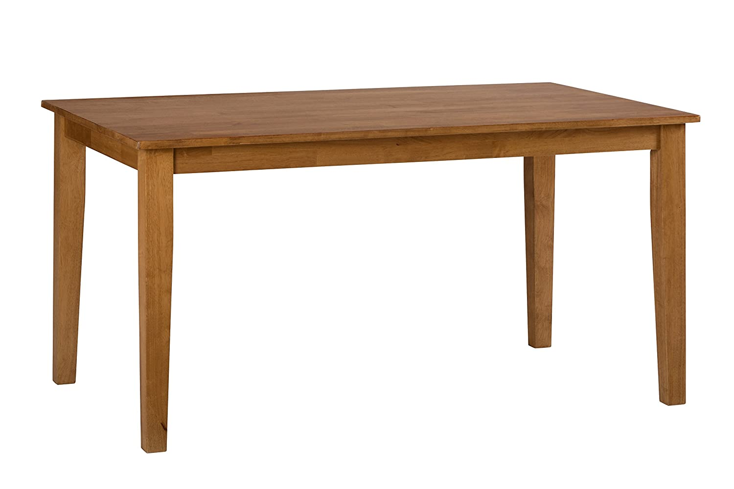 Amazon.com   Jofran 352 60 Simplicity Rectangle Dining Table, Honey   Tables