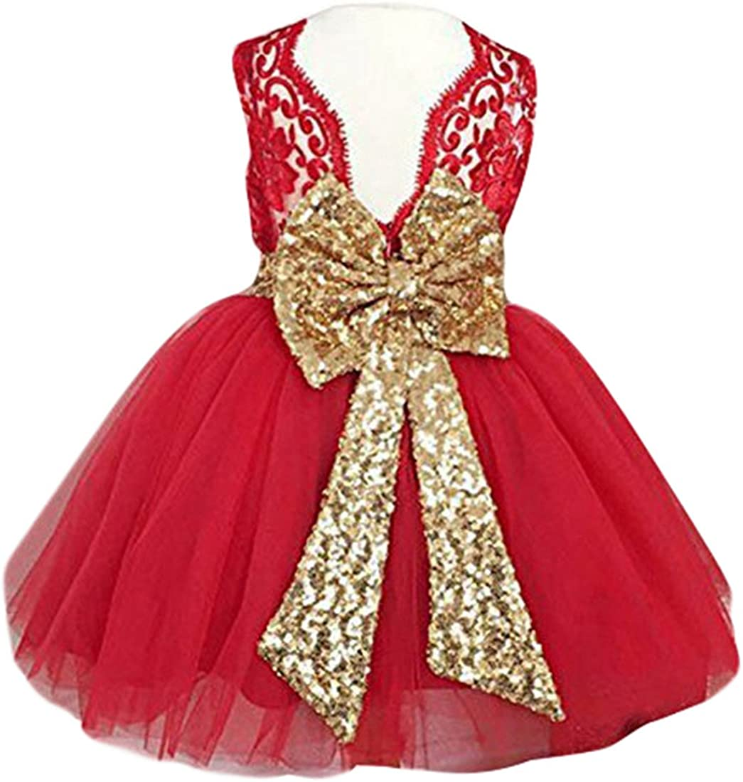 0-12 Years Baby Flower Girl Dress Wedding 71S4Bql0yfL