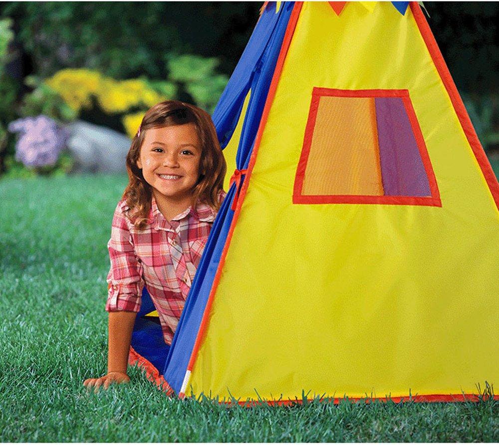 Rwy Kinder Innenzelt Spielzeug Geschenk Babyzimmer Outdoor-Spiel Turmzelt,ROT