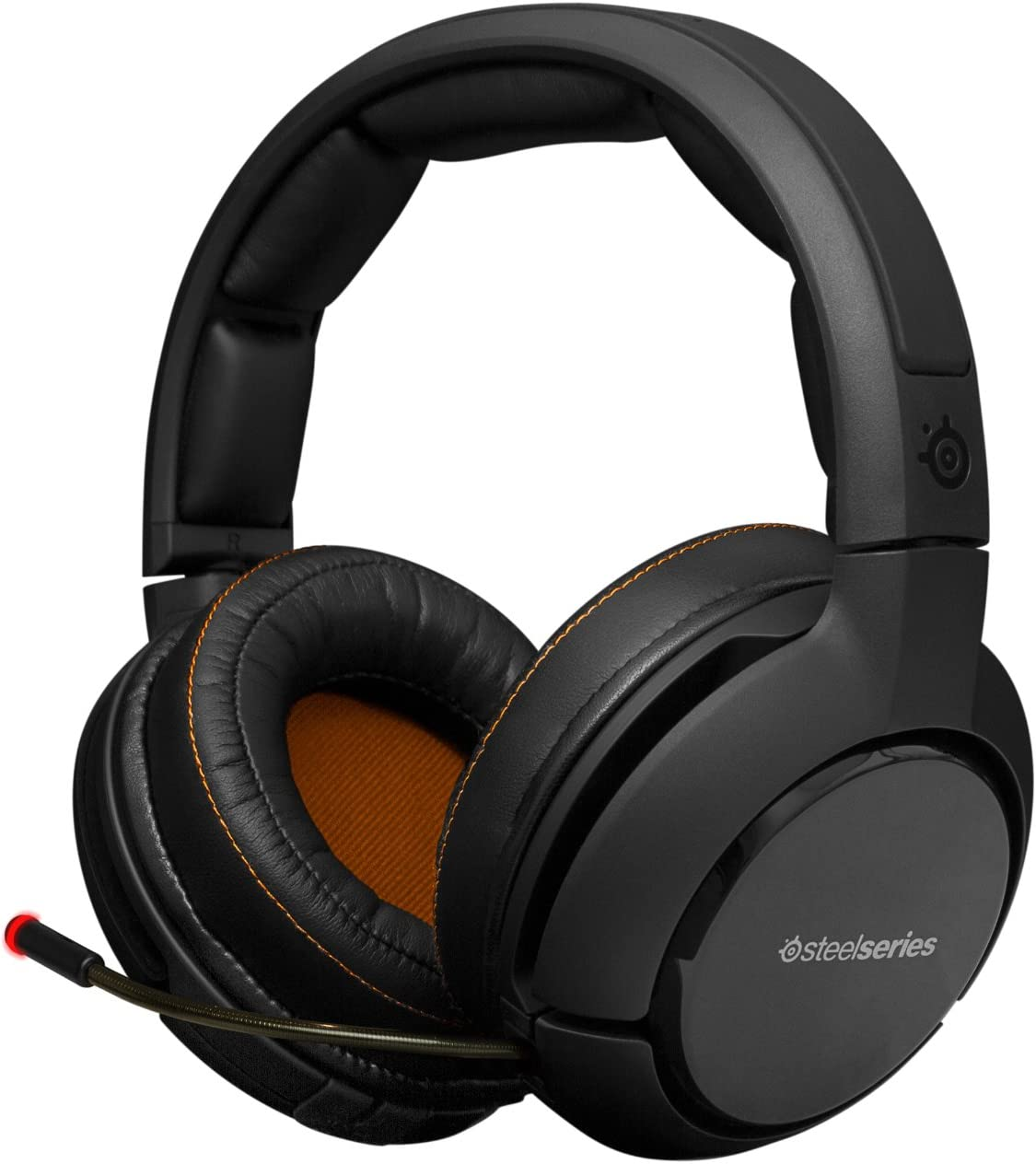 Amazon Com Steelseries H Wireless Gaming Headset With Dolby 7 1 Surround Sound For Pc Mac Ps3 4 Xbox 360 And Apple Tv Computers Accessories