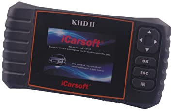 iCarsoft KHD II para Kia/Hyundai/Daewoo OBD2 escáner de ...