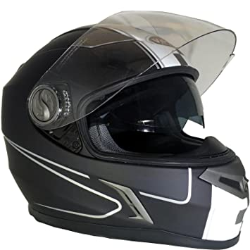 Amazon.es: RS Moto nuevo cascos: V9 SPEED-Casco integral de ...