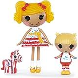 Mini Lalaloopsy - Sisters - Spot Splatter Splash and Scribbles Splash - Mini Poupée 7,5 cm