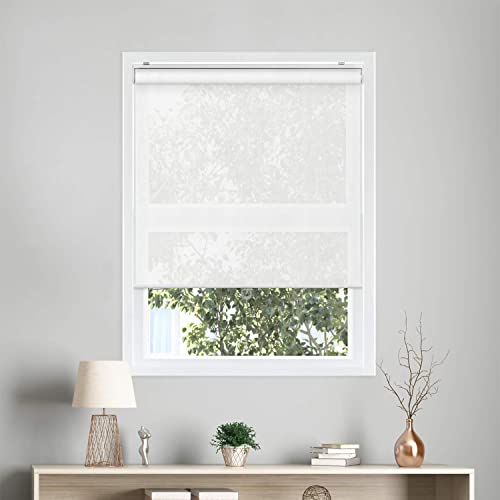 CHICOLOGY Cordless Roller Shades Snap-N'-Glide Perfect