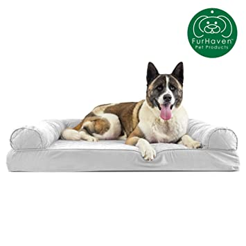 Amazing Furhaven Pet Dog Bed Orthopedic Sofa Style Traditional Living Room Couch Pet Bed W Removable Cover For Dogs Cats Available In Multiple Colors Inzonedesignstudio Interior Chair Design Inzonedesignstudiocom