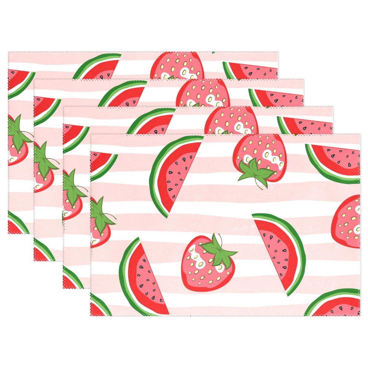 baihuishopスイカand Strawberry 12 x 18