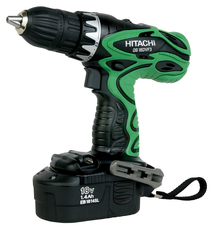 5066b72c9 Hitachi DS18DVF3M 18V Cordless NiCd Post Style Driver Drill