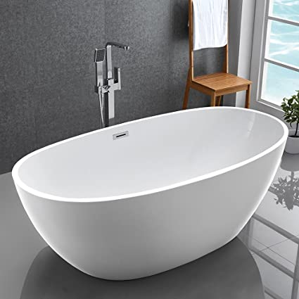 acrylic ended tub inch double bathtub images clawfoot claw pmcshop