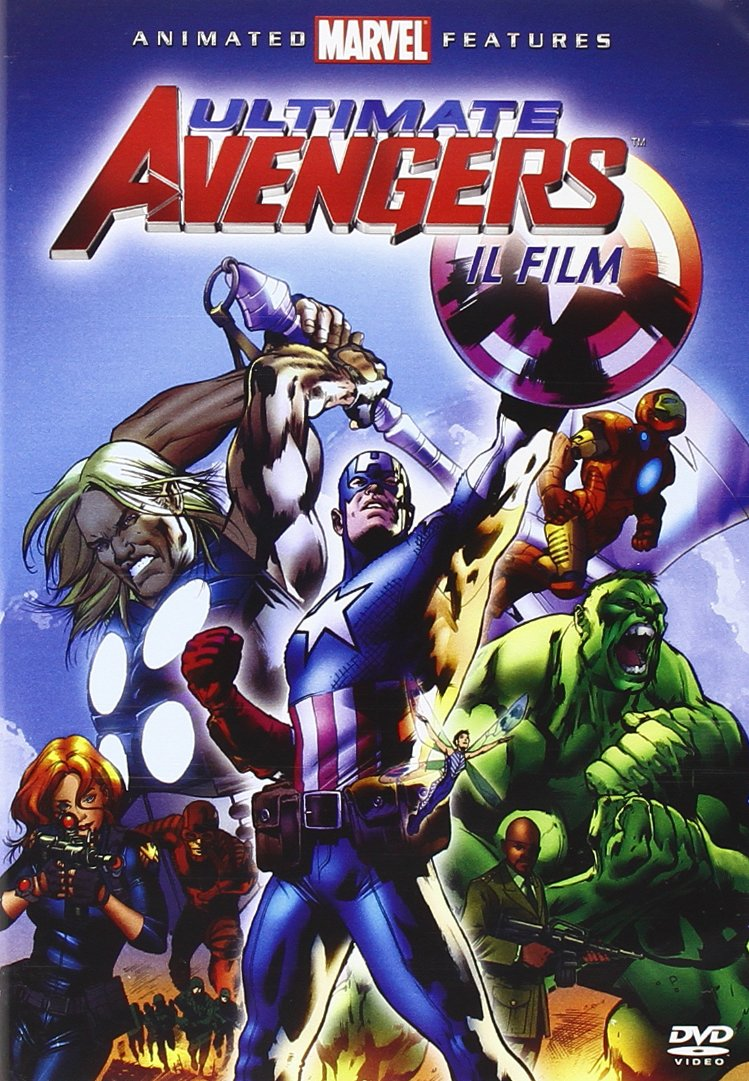 Amazon.com: Ultimate Avengers Movie Collection (3 Dvd) - IMPORT: Movies & TV