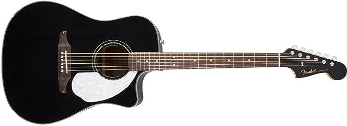 Fender 0968604006 Sonoran Sce negro guitarra eléctrica con a juego con cabezal: Amazon.es: Instrumentos musicales