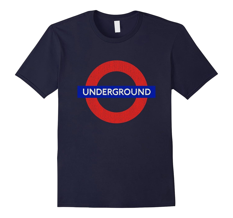 London Underground T Shirt Vintage Distressed Lookd-CD