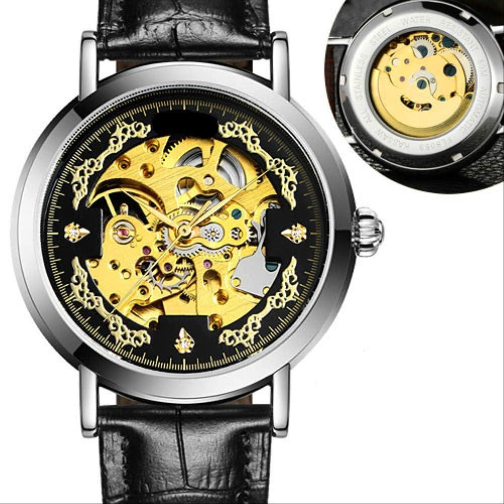 Reloj Reloj Mecánico para Hombres Reloj Deportivo Automático para Hombres Tendencia Deportiva Reloj Luminoso Impermeable De Moda para Estudiantes