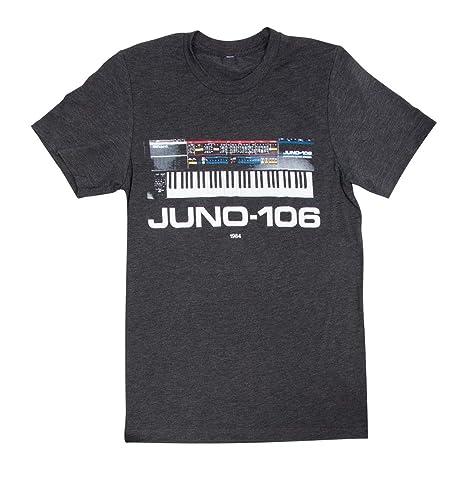 Amazon com: Roland Juno-106 Crew Neck T-Shirt-Small, SM CCR