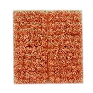 ZHONGYU 144 UNIDS Falsas Rosas Flor con Tallo, Espuma Artificial Craft Flor PE Ramos de Flores Adornos de Bricolaje para la Fiesta de decoración para el ...