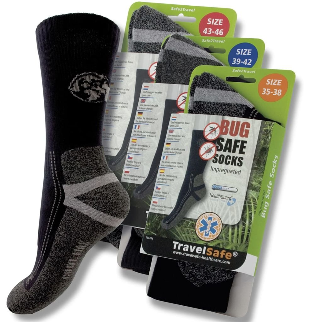 Travelsafe insectos Calcetines contra insectos Travelsafe 35-38 TS0456S 4bda30