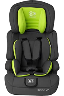 Kinderkraft Comfort UP, Silla de coche grupo 1/2/3, gris: Amazon.es ...
