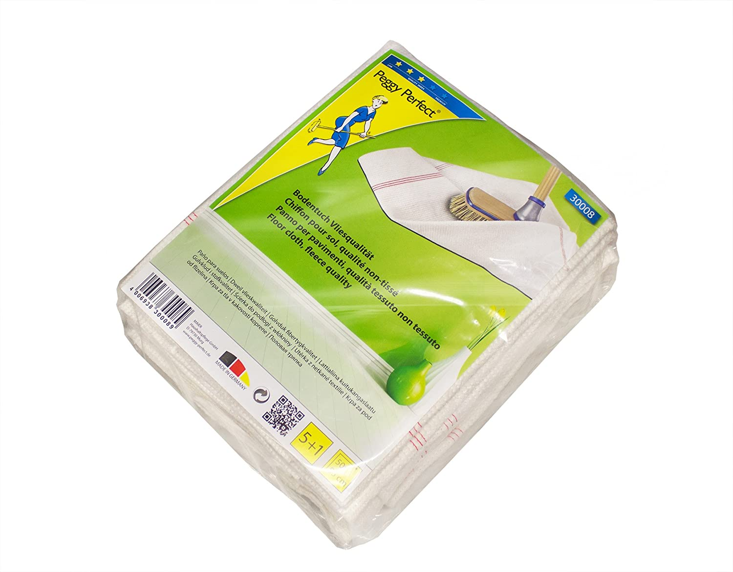Peggy Perfect 30008 Bodentuch Vlies 6er Pack 500 x 550 mm