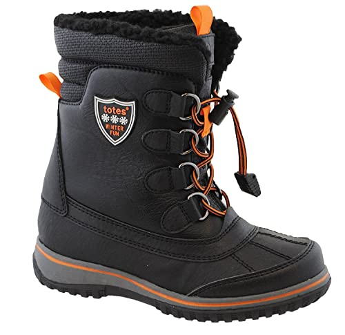 2fb5507e7 totes Boys Buster Waterproof Snow Boot