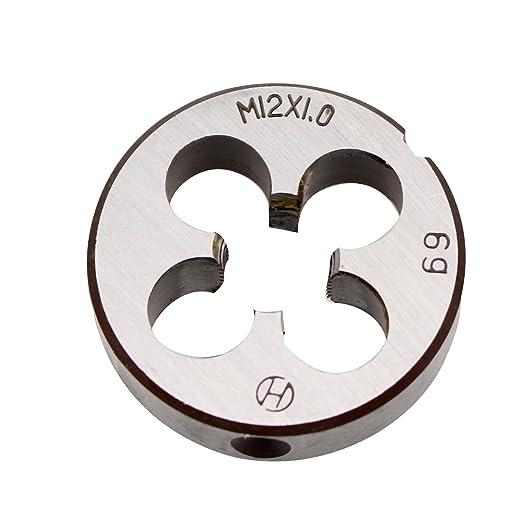 M12 HSS Metric Dies M2