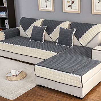 Amazon.com: All inclusive Elastic slipcover sofa,Plant ...