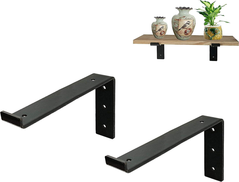estanter/ía para cocina JZK 60x Soporte de estante de soporte en forma de L con orificio estante de soporte de estante de acero pulido de 6 mm clavijas de soporte armario armario