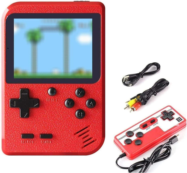 ETPARK Consola de Juegos Portátil, 400 Juegos Retro 2.8 Pulgadas Pantalla a Color Soporte para Jugadores Duales y Conexión de TV: Amazon.es: Electrónica