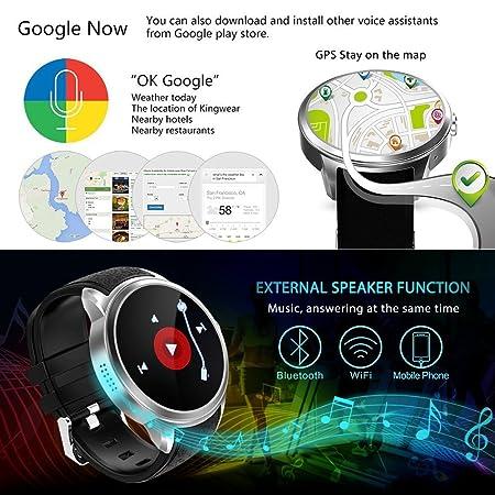 Reloj de pulsera teléfono inteligente Diggro DI01 Android 5 ...