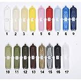 15 Stück Kordelenden für 5 mm Kordel / #15 / Farbe: 17