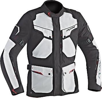Ixon 3 en 1 chaqueta Crosstour, gris / negro talla L: Amazon.es: Coche y moto