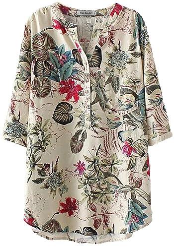 Najia Symbol - Camisas - Floral - para mujer