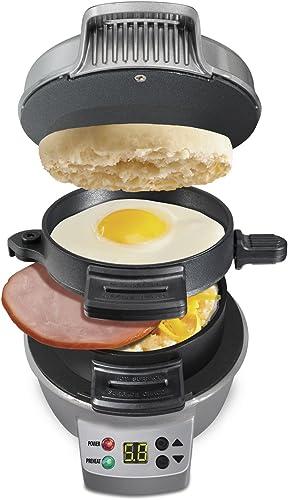 Hamilton-Beach-25478-Breakfast-Sandwich-Maker