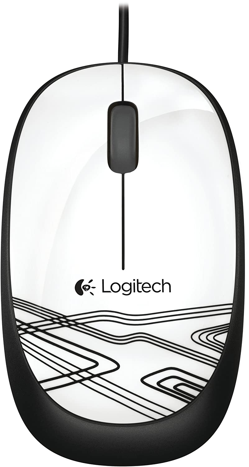 510ed6cd8ab Logitech Mouse M105 - White: Amazon.co.uk: Computers & Accessories