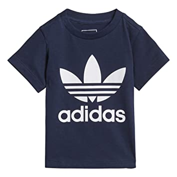 4655c0d5907c adidas Trefoil Boys T-Shirt Blue D96099 (9/12 Months): Amazon.co.uk ...