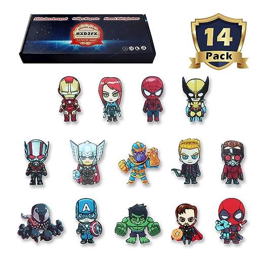 HXDZFX - Imanes de Nevera, diseño de Los Vengadores, Marvel ...