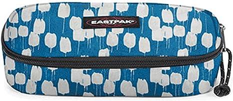 Eastpak - Estuche ovalado Flow azul - EK 717780: Amazon.es: Juguetes y juegos