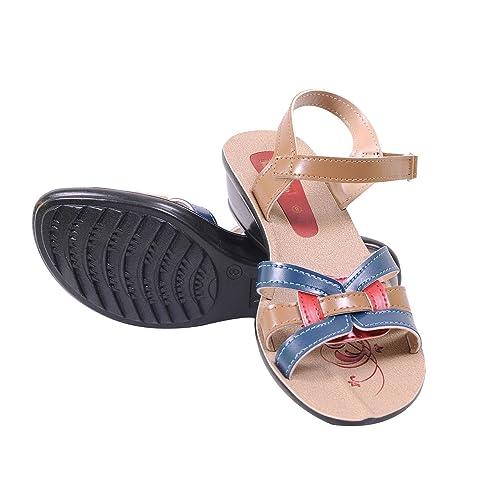 VKC 646 Beige Women Sandals Size 10