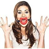 MyLove Silicona boca abierta mordaza/mordaza en forma de hueso, adulto sexo Pareja rol juego…