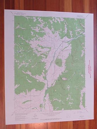 Clark Colorado Map.Amazon Com Clark Colorado 1964 Original Vintage Usgs Topo Map