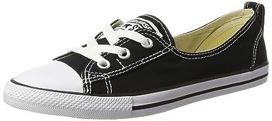 a36043bb33 ... norway converse damen chuck taylor all star ballet lace sneaker schwarz  weiß 35.5 eu 1666f 59b31