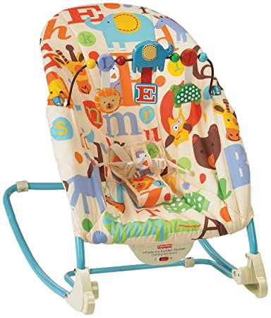 ac2a1d36039d Amazon.com   Fisher-Price Infant-to-Toddler Rocker - Alphabets   Baby
