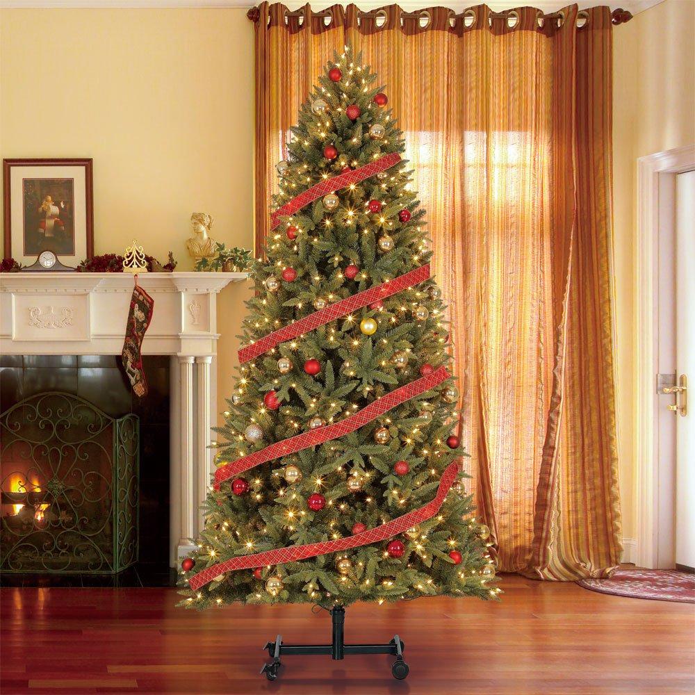 Home Heritage Alaska 7' - 9' Grow & Stow Dual Colored Light Christmas Tree by Home Heritage (Image #5)