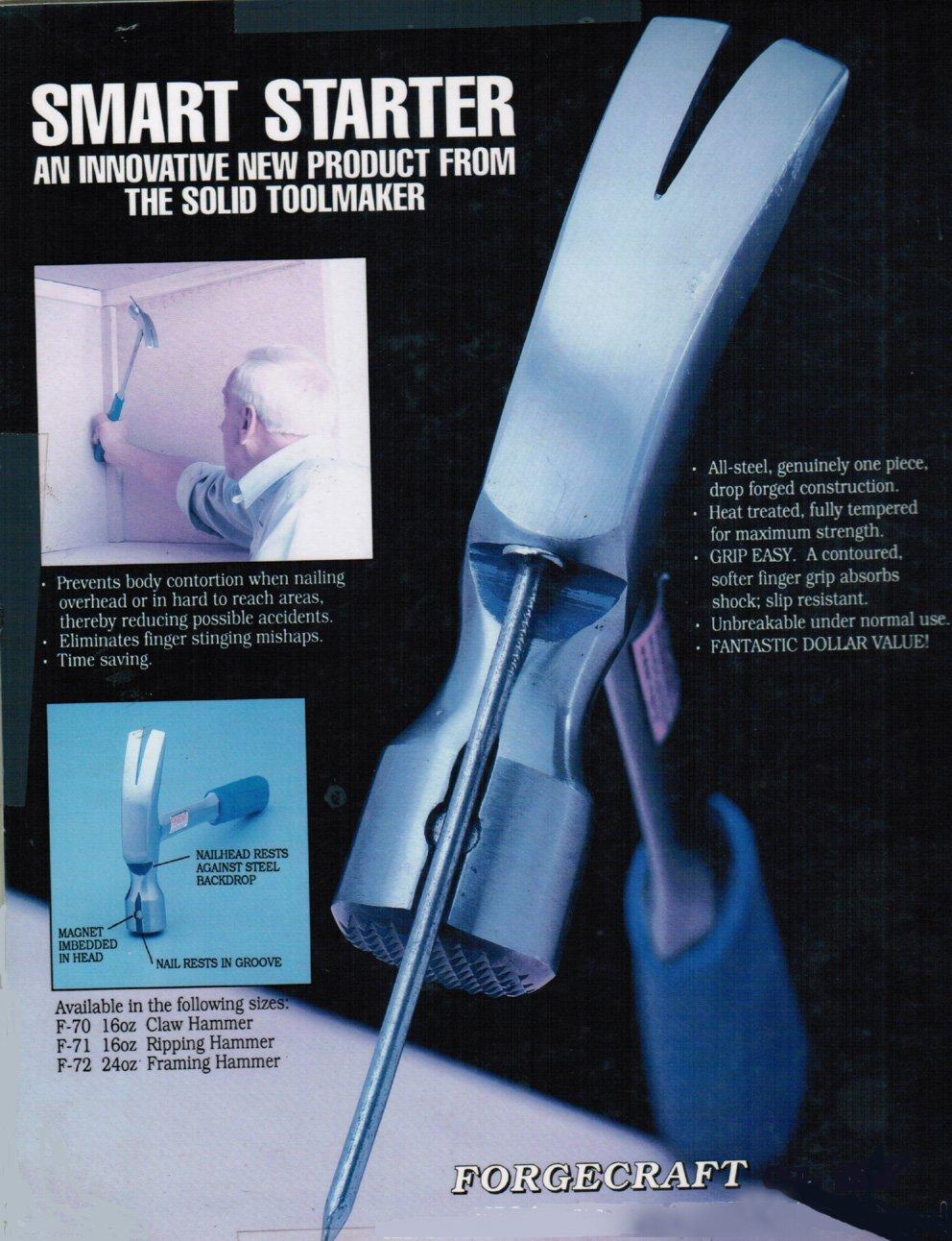 Framing Hammer, Smart Starter-magnet Embedded. 24oz. - Claw Hammers ...