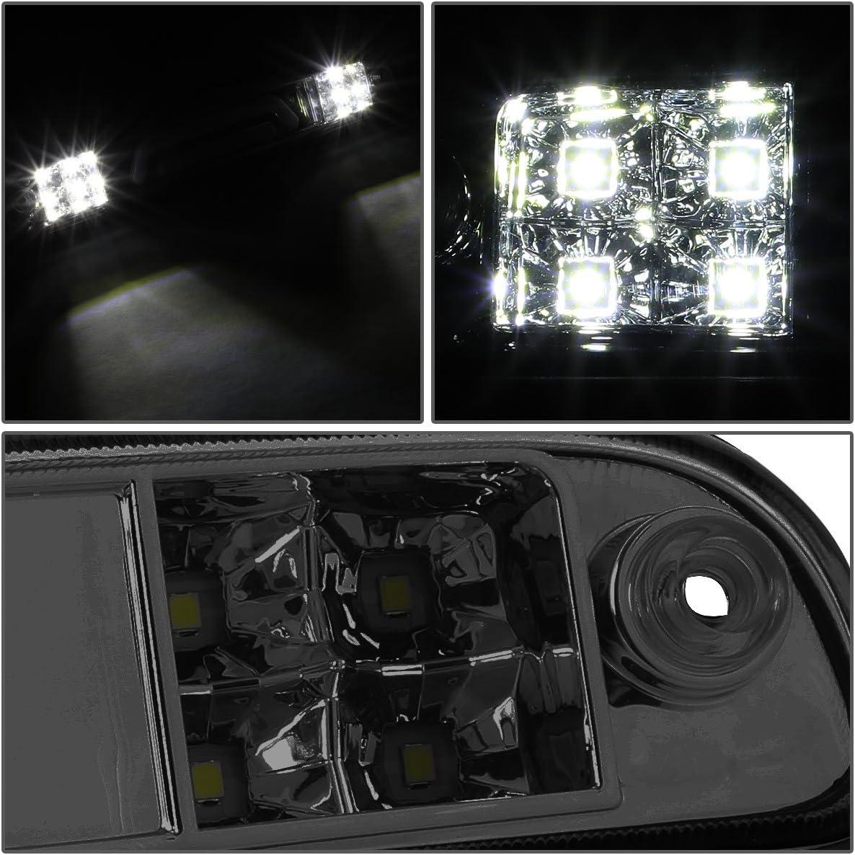 DNA MOTORING 3BL-FSPRAN99-3D-T4-LED-BK Sequential LED 3rd Third Tail Brake Light Stop Lamp For 99-16 Ford Superduty