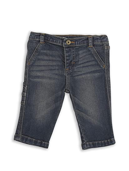 56141d1a Amazon.com: Wrangler Infant Baby Toddler My First Blue Jeans: Clothing