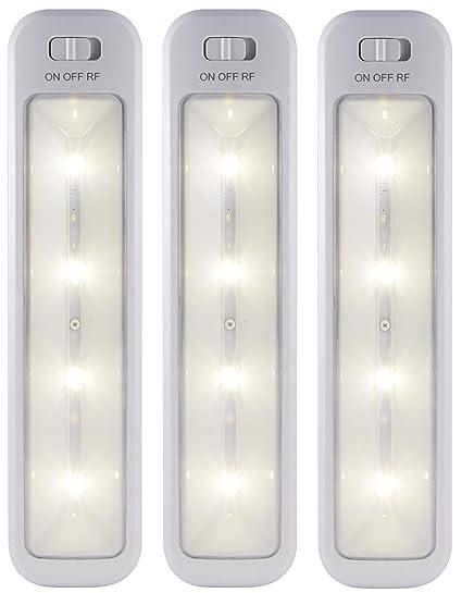 Ge 38558 Wireless Remote Led Light Bars 3 Pack Amazon Com