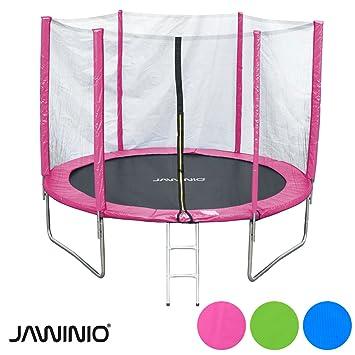 Jawinio Cama elástica 305 cm (10 F) trampolín de jardín Jumper Set ...