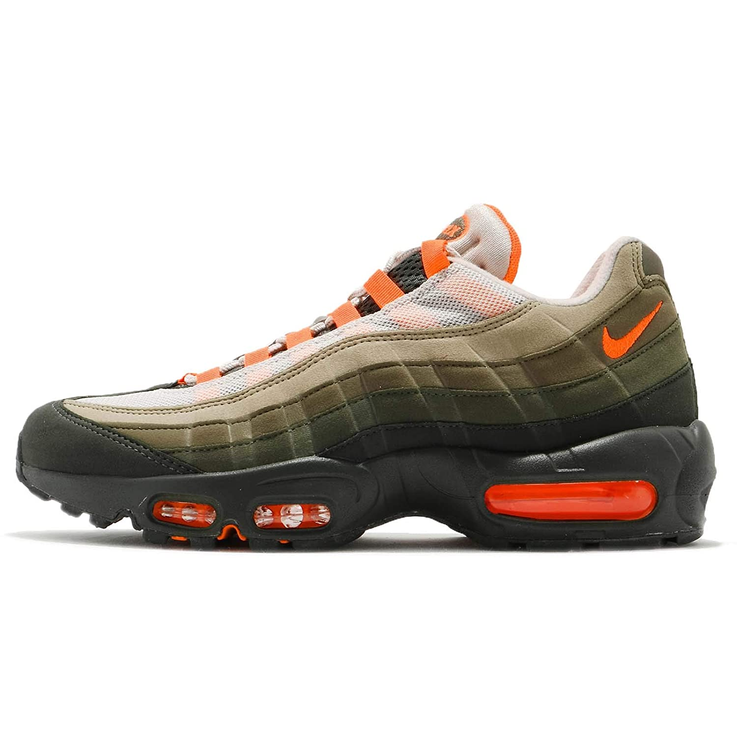 online retailer 7c970 2dec0 Amazon.com   Nike Womens Air Max 95 OG Lifestyle Hiking, Trail Shoes Green  6 Medium (B, M)   Fashion Sneakers